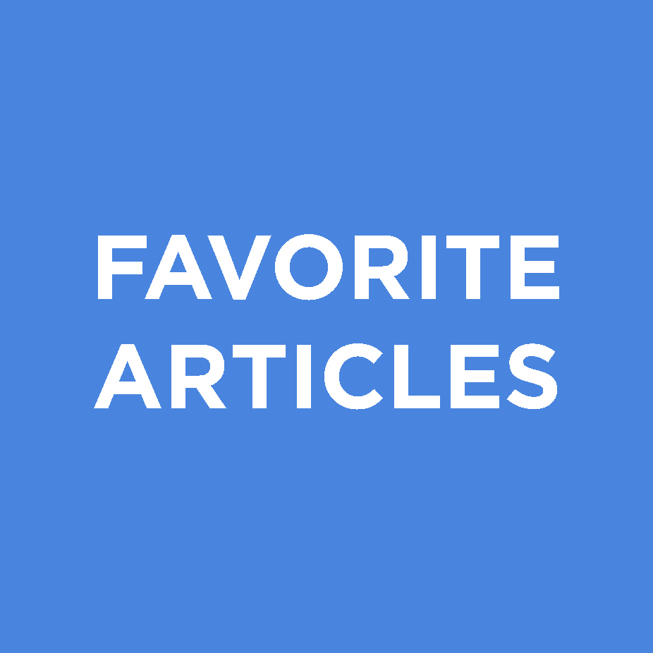 Favorite Articles